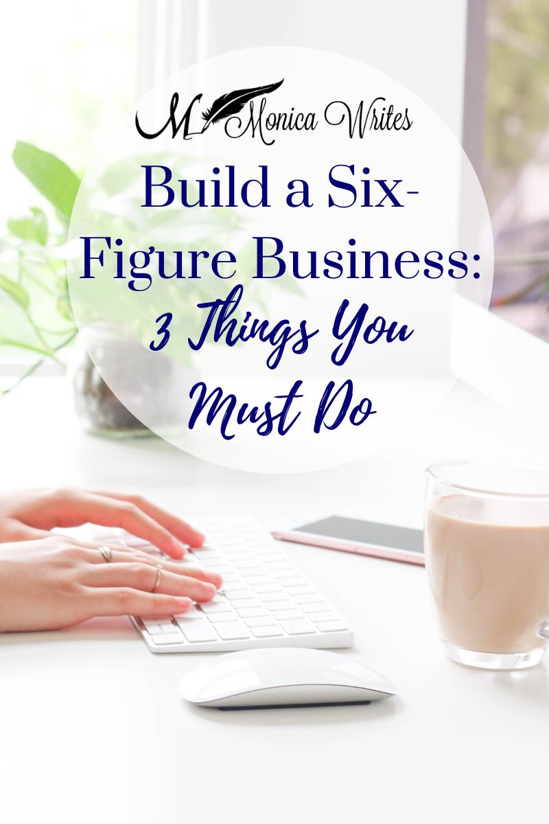 build a six-figure business