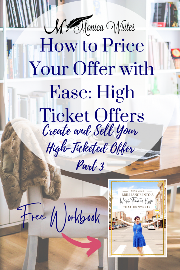how to price your offer