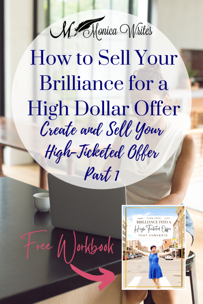 how to sell your brilliance