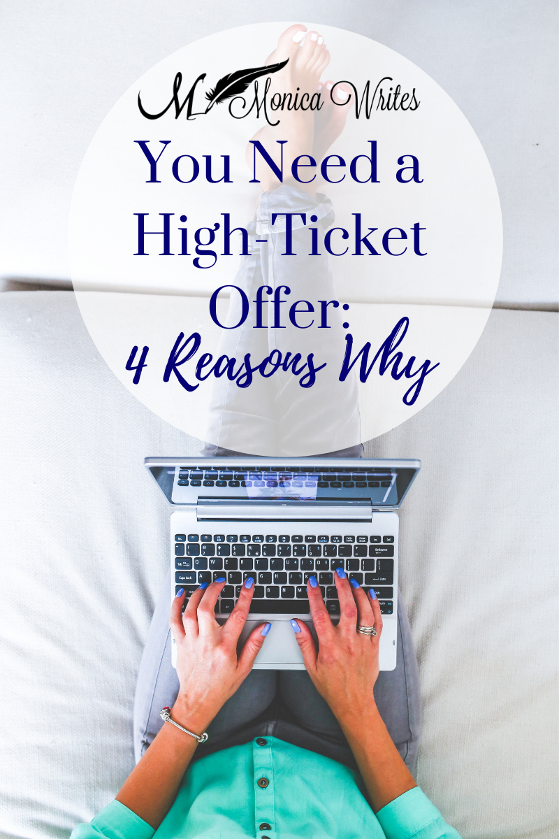 you need a high-ticket offer